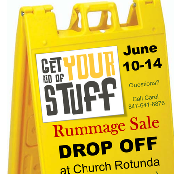 RUMMAGE SALE DROP OFF