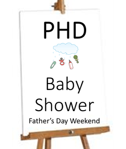 PHD Baby Shower - After All Weekend Masses