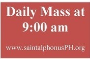 LABOR DAY MASS (no 8:15 am Mass)