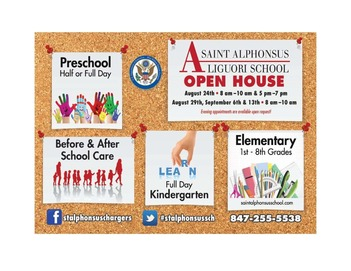 School OPEN HOUSE - Evening