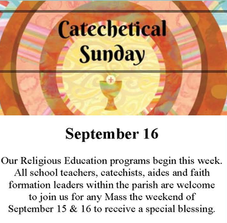Catechical Sunday Mass