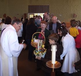 Holy Saturday: Blessing of the Easter Baskets
