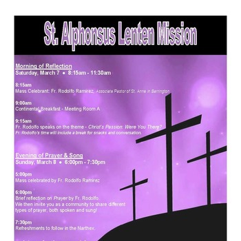 Lenten Mission - March 7, 2020
