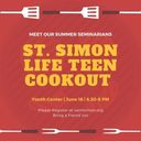 Life Teen (High School Youth Group) Cookout