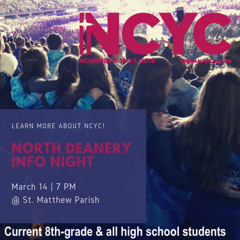 National Catholic Youth Conference Information Meeting