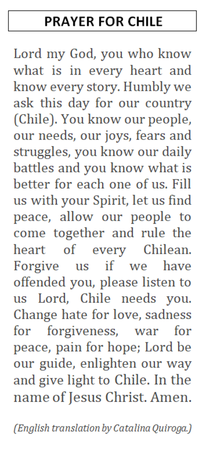 Prayer for Chile