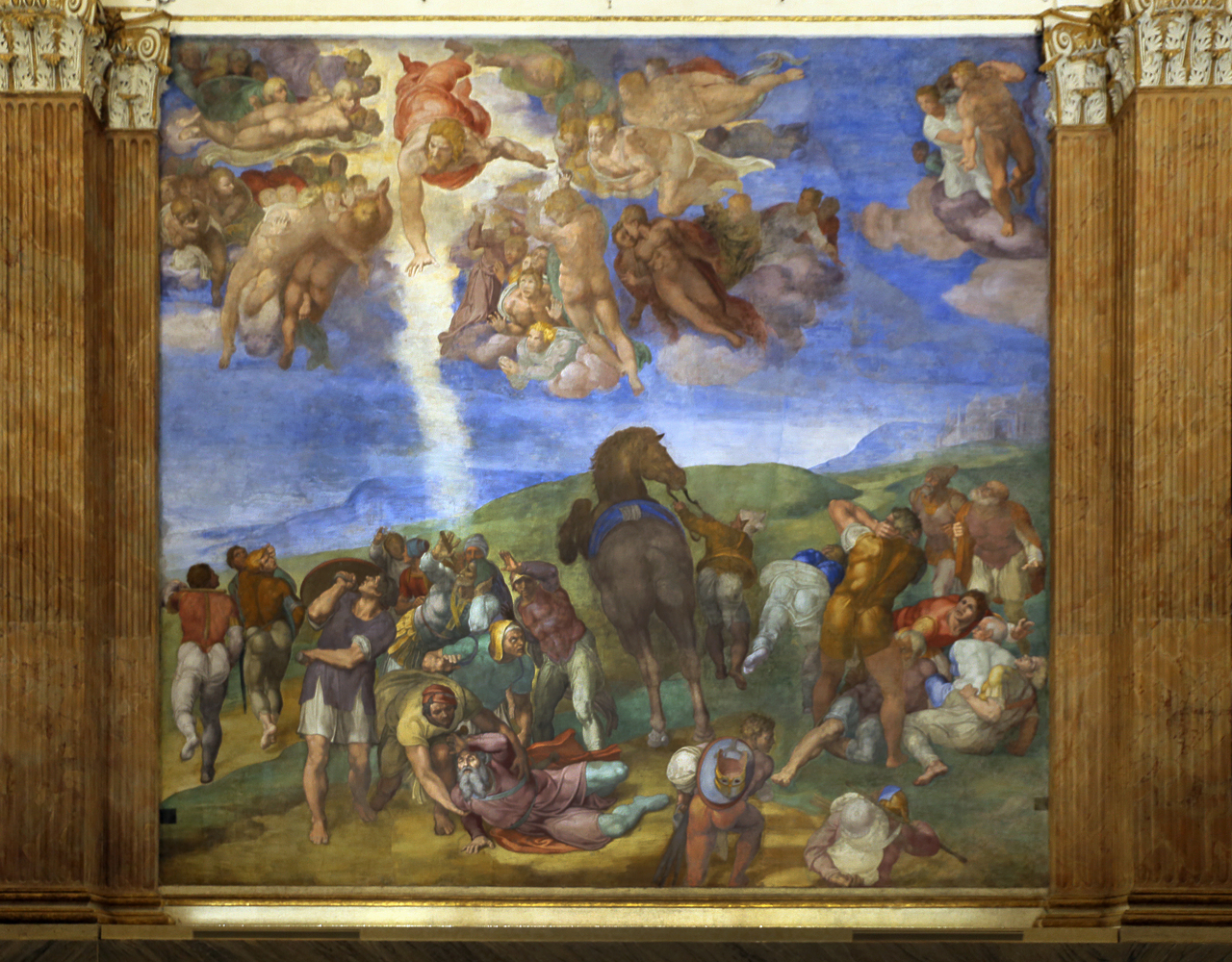 Michelangelo's Conversion of St Paul
