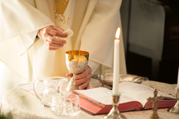Mass in Spanish every Saturday of the month 6:30 pm.