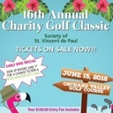 Society of St. Vincent de Paul 16th Annual Charity Golf Classic