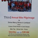 Divine Mercy Bike Pilgrimage in support of The Mark Herwaldt Family