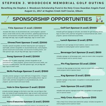 Inaugural Stephen Woodcock Memorial Golf Outing!