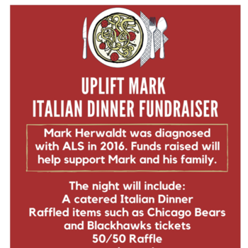 Sept 23, Uplift Mark Italian Dinner Fundraiser