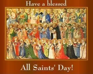 All Saints' Day - Holy Day of Obligation - Thursday, November 1st