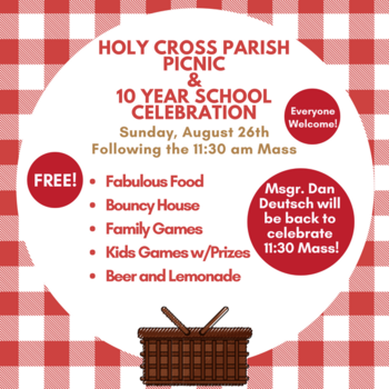 Parish Picnic & 10 Year School Celebration