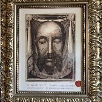 Holy Face of Jesus Relic and Devotion