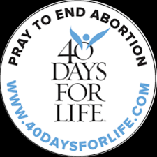 40 Days for Life - Holy Cross Sign Up