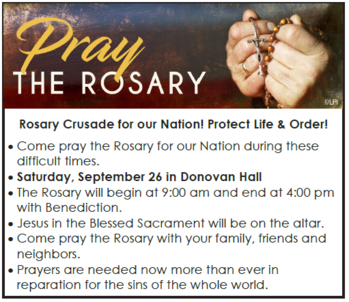 Rosary Crusade for our Nation!