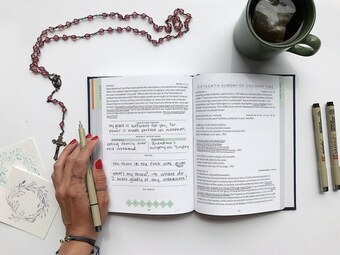 Every Sacred Sunday: Mass Journal begins the first weekend of Advent