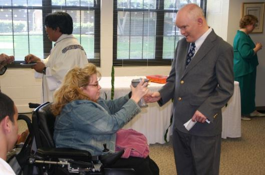 Picture:  Mass with Persons with Disabilities