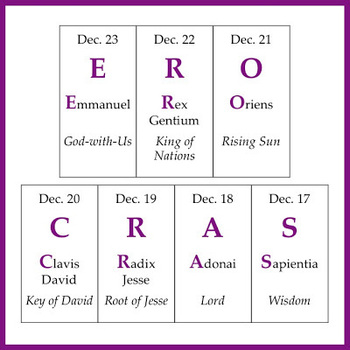 """O"" Antiphons begin"
