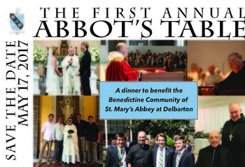 The First Annual Abbot's Table Benefit Dinner