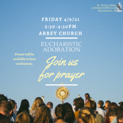 2nd Friday Adoration and Confessions