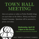 Townhall Meeting April 28