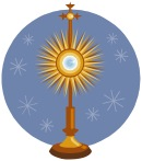 Adoration with Benediction at 7:20 pm
