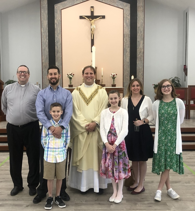 Reception of Doug Bailey into the Church- 2020