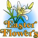 Thank you for the donation of Easter flowers