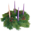 Advent Wreath ceremony