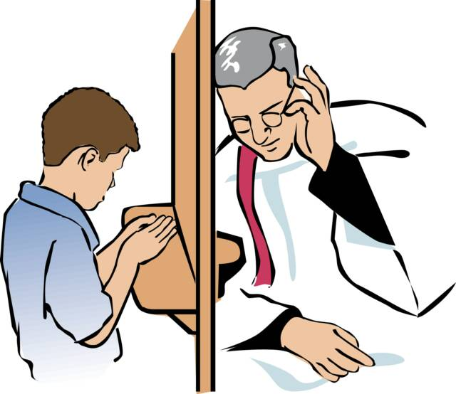 A guide for the Penitant in Confession