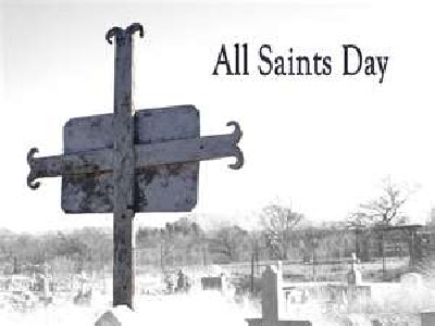 All Saints Day blessing and Rosary