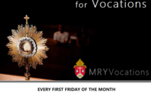 Holy Hour Mass for Vocations