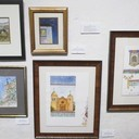 Last month to see the Art exhibit at Mission San Juan Bautista