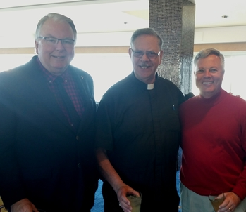 Bishop Garcia's Christmas luncheon for Clergy