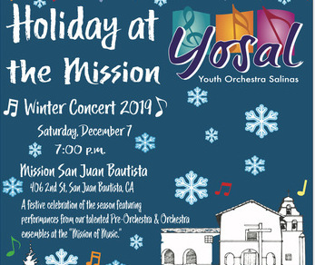 Holiday at The Mission— A Winter Concert