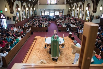 150th Anniversary Mass for St. Patrick's Church in Watsonville