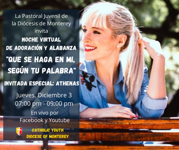 Online Evening of Prayer and Reflection -- In Spanish