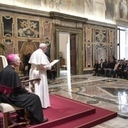 Pope invites deaf to help others 'hear' voice of God