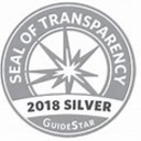 OLPH recently received the 2018 Silver Seal of Transparency on Guidestar!