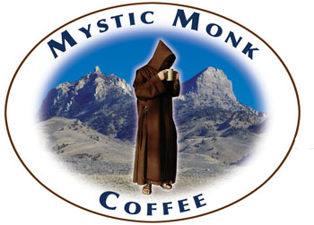 mystic monk coffee I got my first bag of mystic monk coffee for my birthday from my stepson although very satisfied with my current coffee and thinking no one could top it, i tried mystic monk just for kicks it was fantastic.
