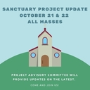 New Sanctuary Project Update Oct 21/22