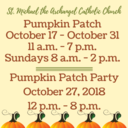 Pumpkin Patch October 17 - 31st!