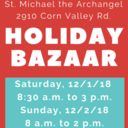 Holiday Bazaar December 1 & 2
