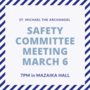 First Church Safety Meeting and Committee Development