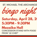 BINGO Fundraiser - April 28th