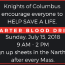 Carter Blood Drive July 15