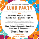 Save The Date for our St. Michael Luau!
