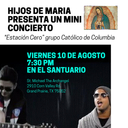 CANCELLED: Hijos de Maria Mini Concierto - August 10th